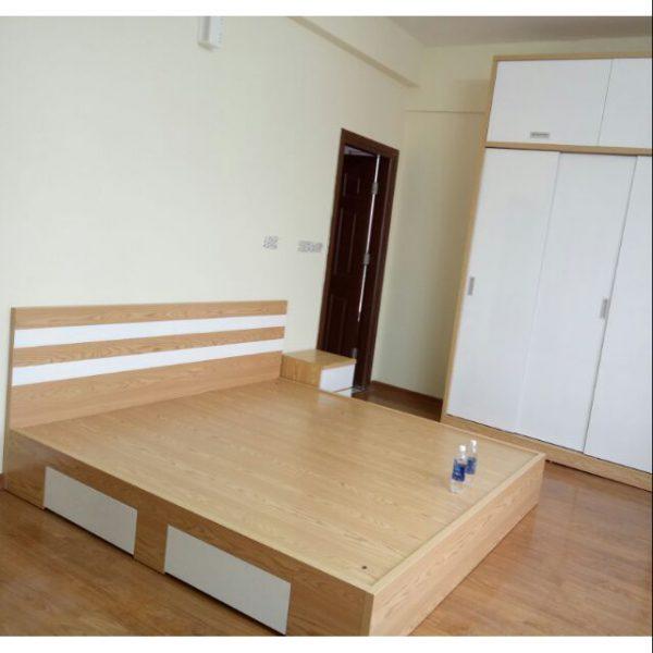 giường ngủ gỗ mdf giá rẻ