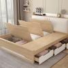 giường ngủ thông minh bọc đệm 1m6