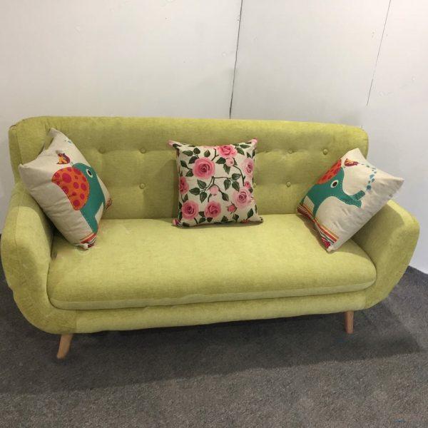 sofa văng màu vàng chanh