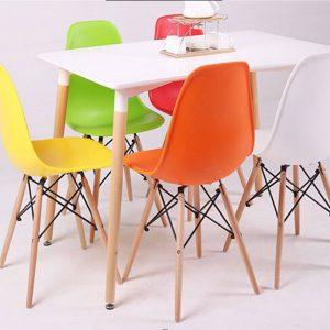 bàn ăn eames 6 ghế