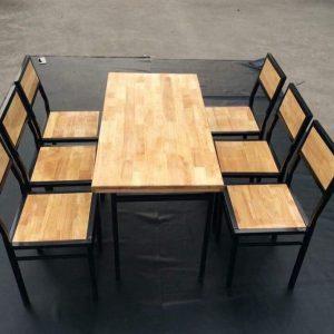 bàn ăn nhà hàng 6 ghế