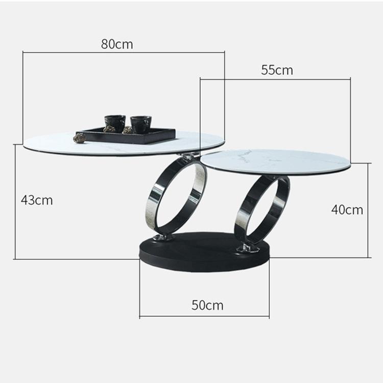 bàn trà 360 dộ