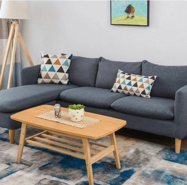 Bộ sofa nỉ phòng khách
