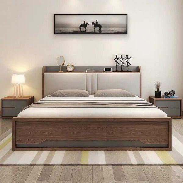 Giường ngủ thông minh bọc đệm