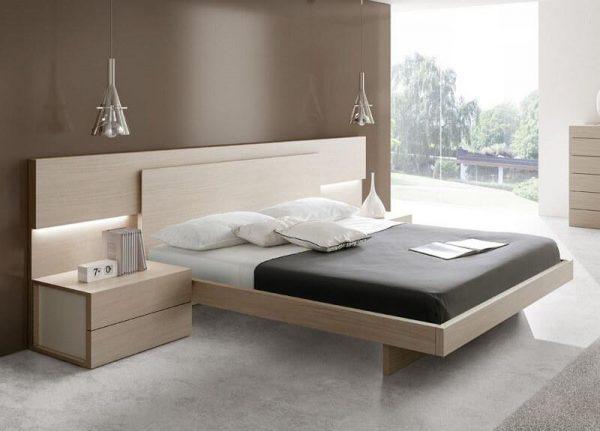 mẫu giường thiết kế