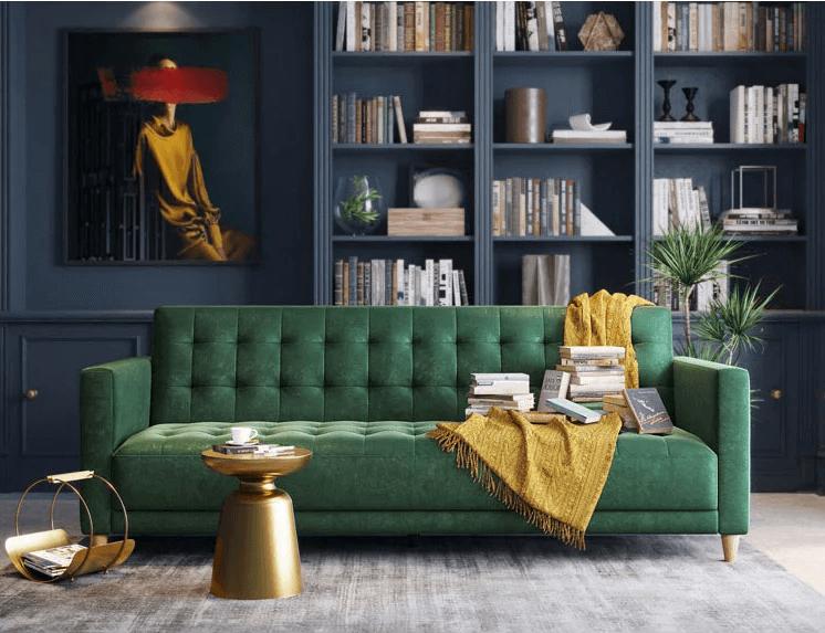 Sofa giường có tay chắn