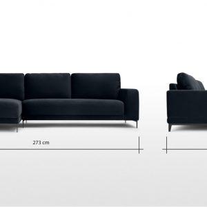 Kích thước sofa nỉ nhập khẩu
