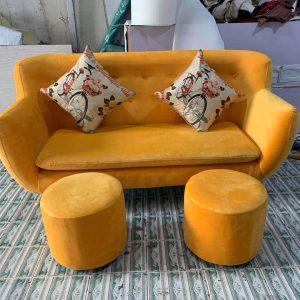sofa nỉ nhung